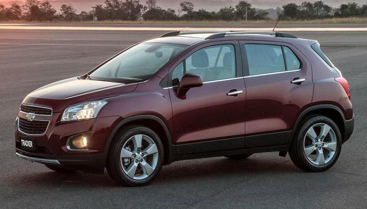 Кроссовер Chevrolet Tracker 2015