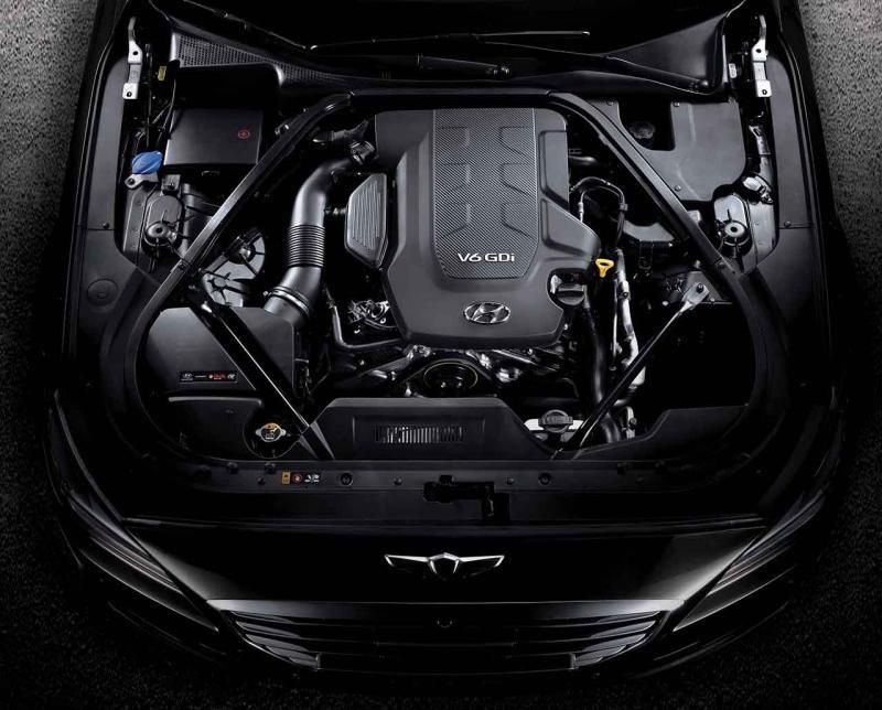 Двигатель Hyundai Genesis Coupe 2015