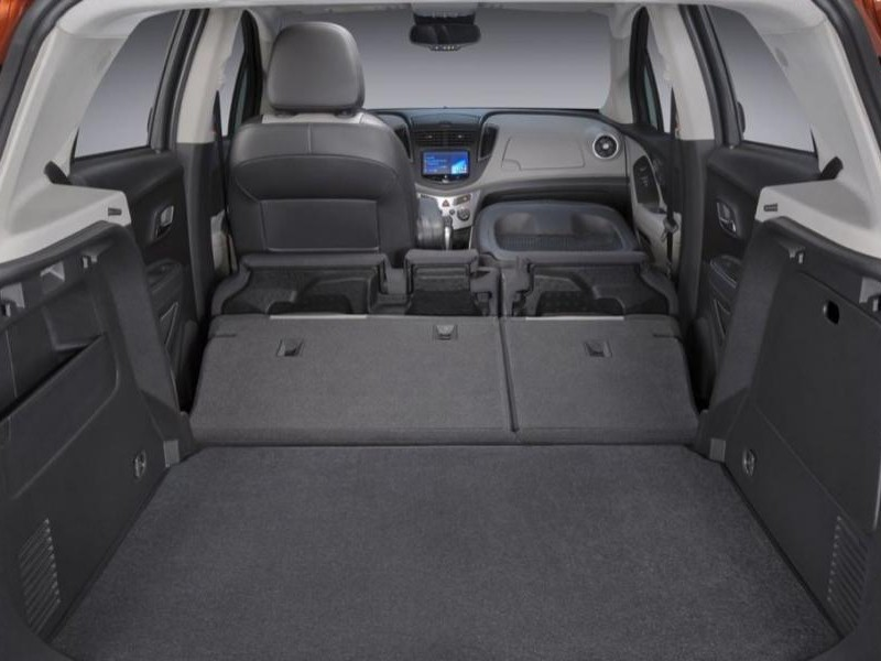 Багажник кроссовера Chevrolet Tracker 2015