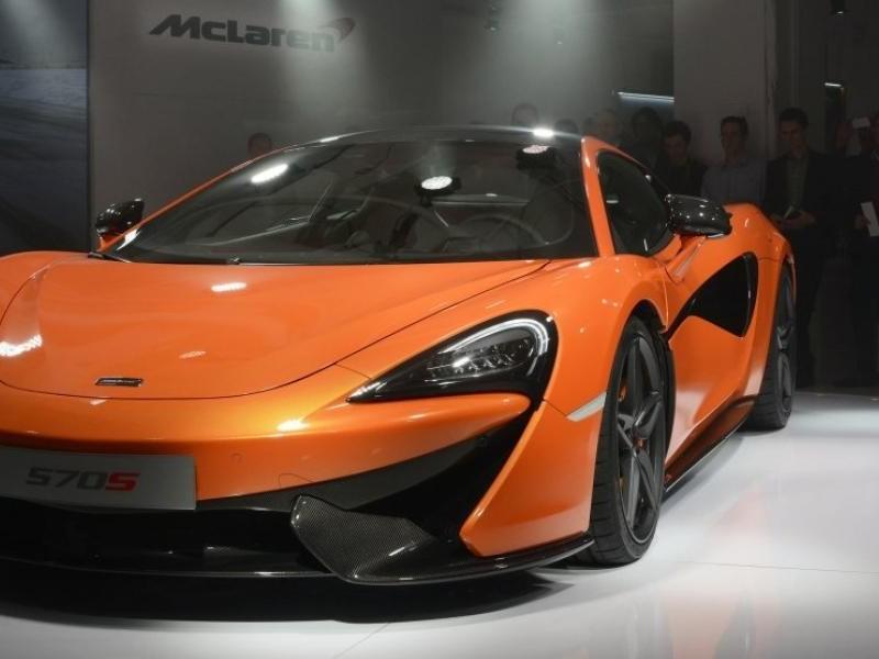 Презентация суперкара McLaren 570S