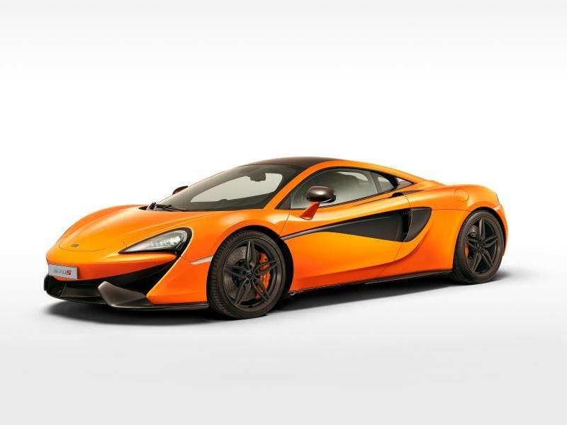 McLaren 570S купе