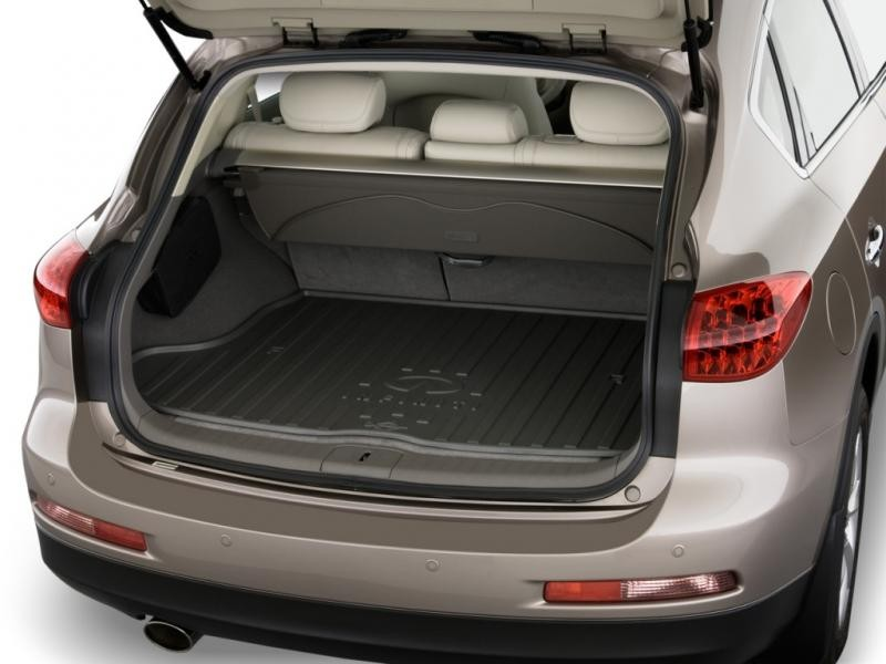Багажник кроссовера Infiniti QX50 2015