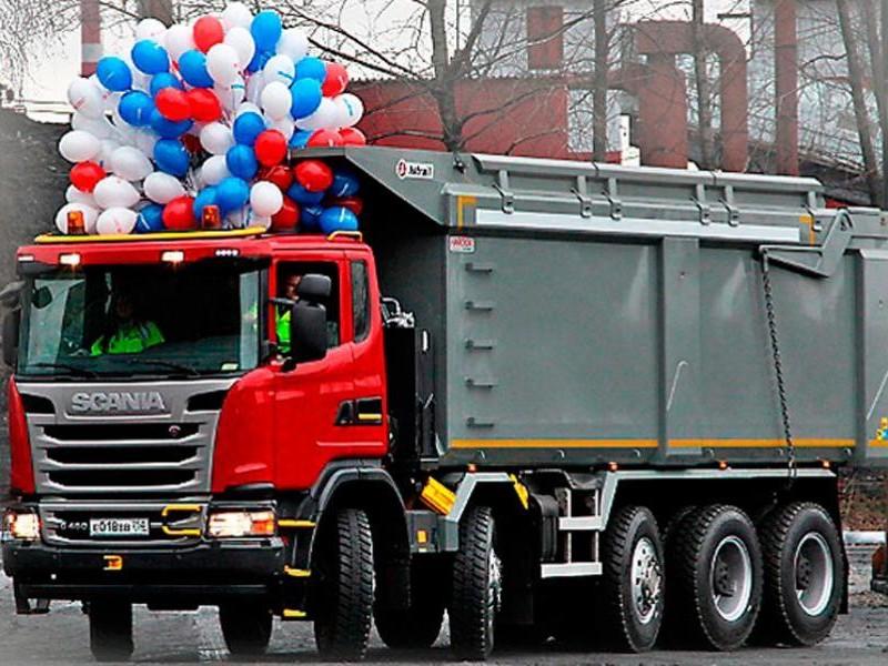 Scania G480 CB10х4EHZ (самосвал)