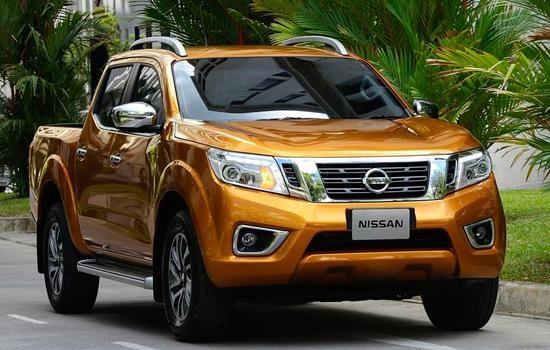 Nissan Navara 2015 вид спереди