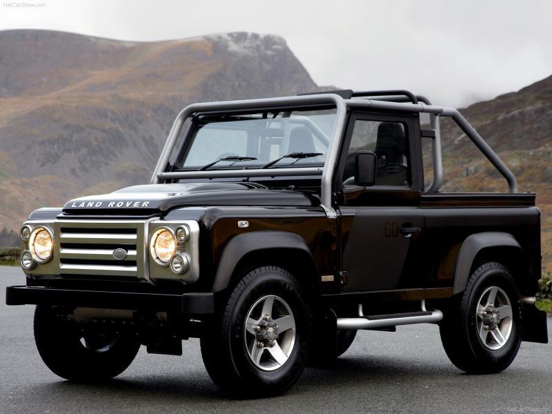 Land Rover Defender SVX, вид сбоку