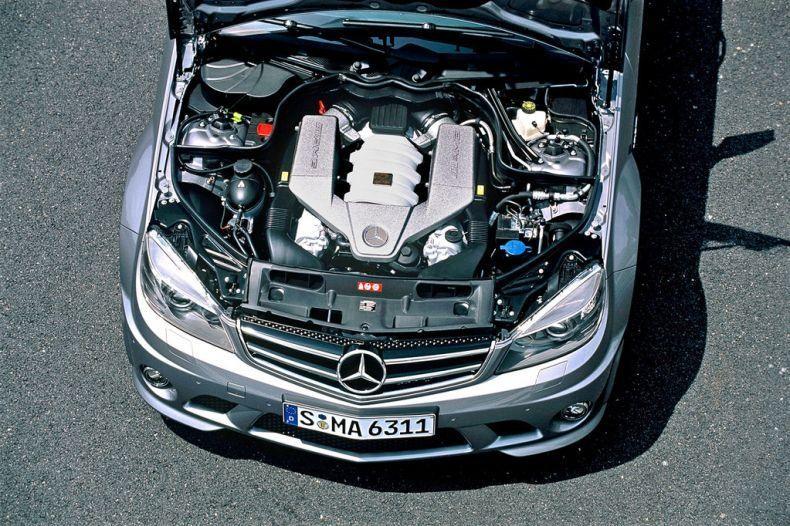 Двигатель Mercedes AMG C64