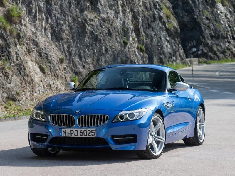 Кабриолет BMW Z4 Estoril Blue 2016