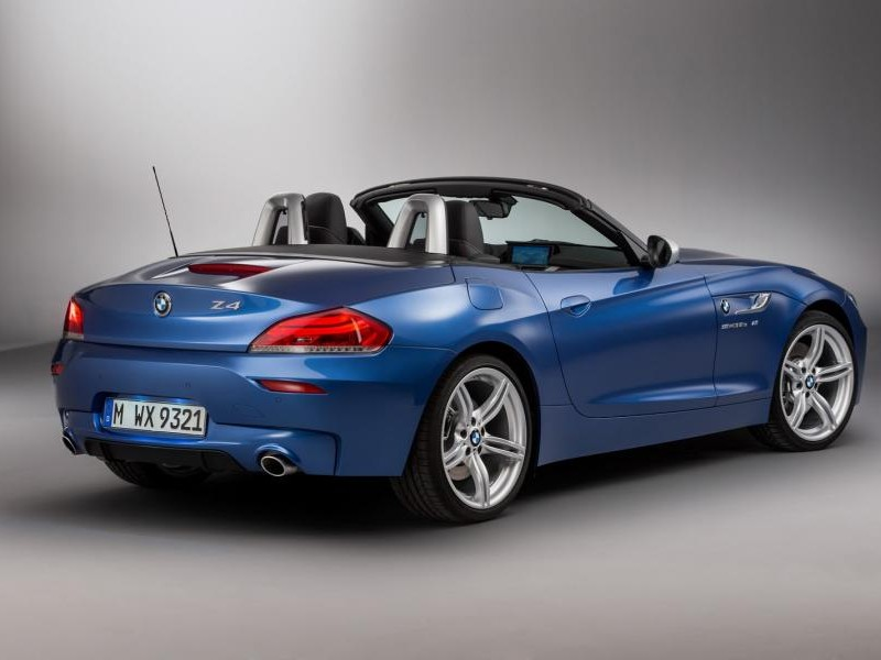 BMW Z4 Estoril Blue, кабриолет 2016