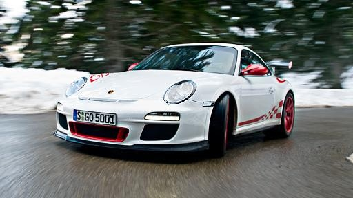 Тюнинг Porsche 911 GT3 KAEGE вид спереди