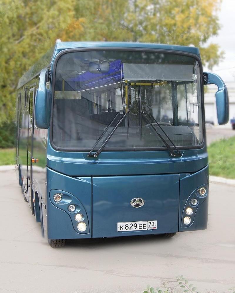 Автобус BAW 2245 Express вид спереди