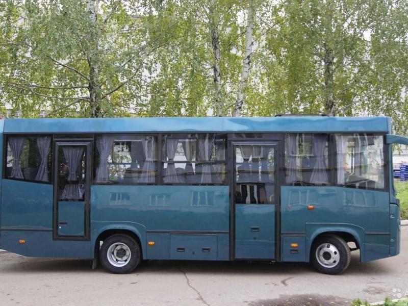 Автобус BAW 2245 Express вид сбоку