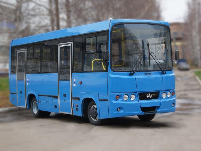 Синий автобус BAW 2245 Street Line