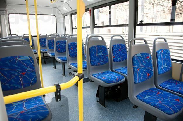 Салон автобуса BAW 2245 Street Line