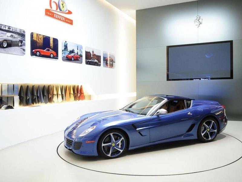 Ferrari Superamerica 45, вид сбоку