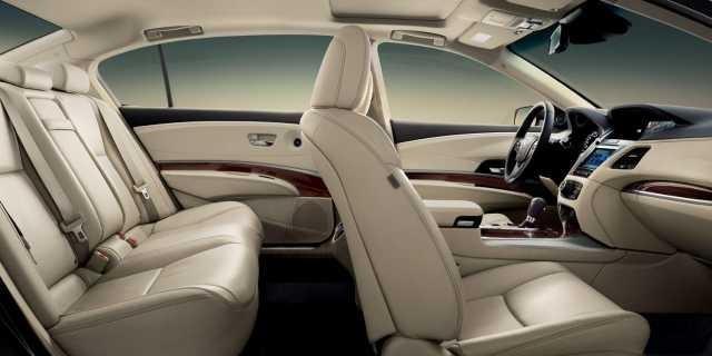 Интерьер Acura RLX Sport Hybrid 2016