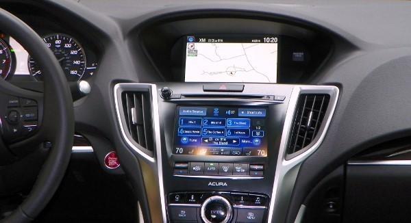 Консоль Acura RLX Sport Hybrid 2016
