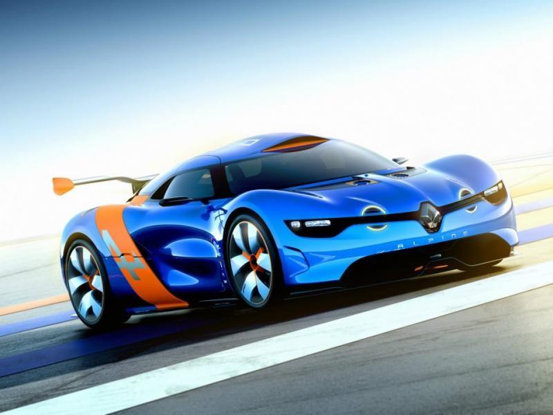 Концепт, суперкар Renault Alpine 2016