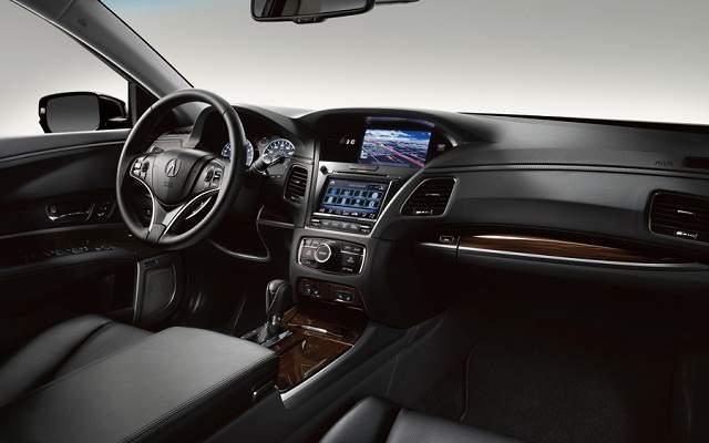Салон Acura RLX Sport Hybrid 2016