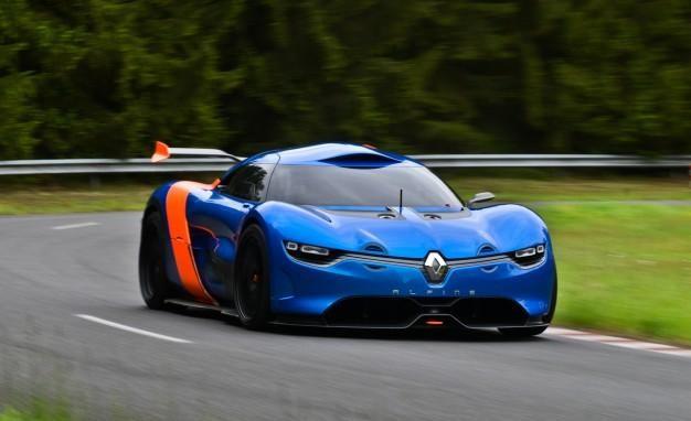 Renault Alpine 2016, суперкар, концепт