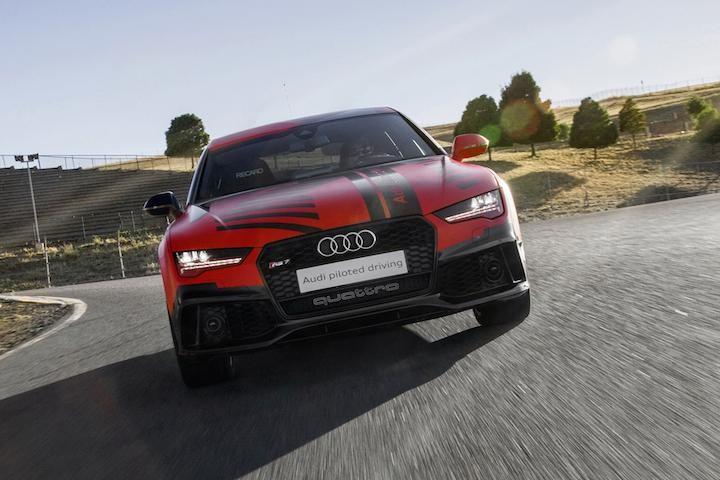 Audi RS7 Robby, суперкар вид спереди
