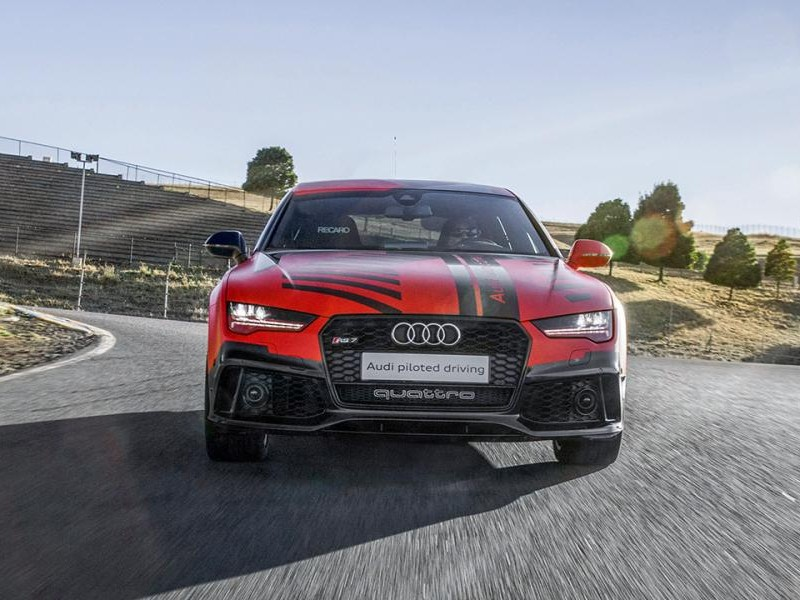 Audi RS7 Robby, вид спереди