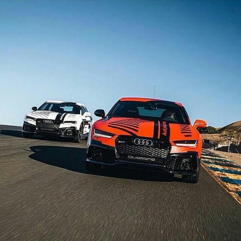 Audi RS7 Robby вид спереди