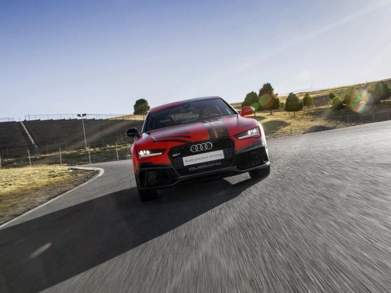 Суперкар Audi RS7 Robby, вид спереди
