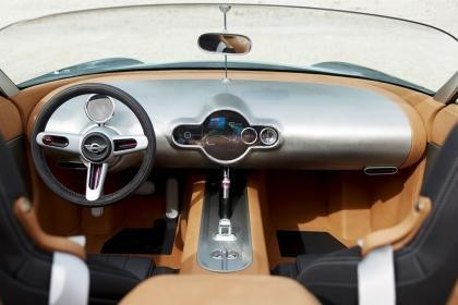 Руль, приборная панель MINI Superleggera