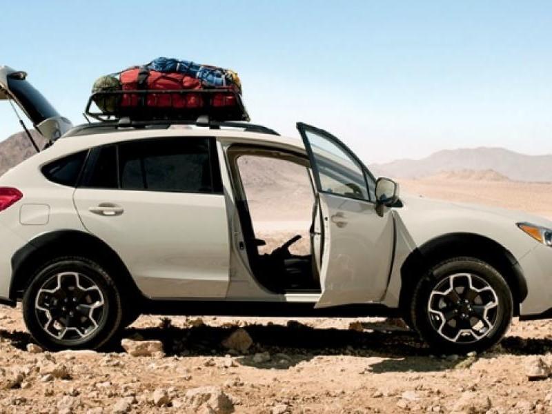 Subaru XV 2015, кроссовер вид сбоку