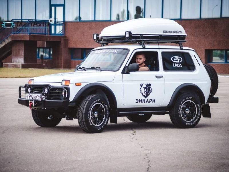Lada 4x4 Elbrus Edition вид сбоку
