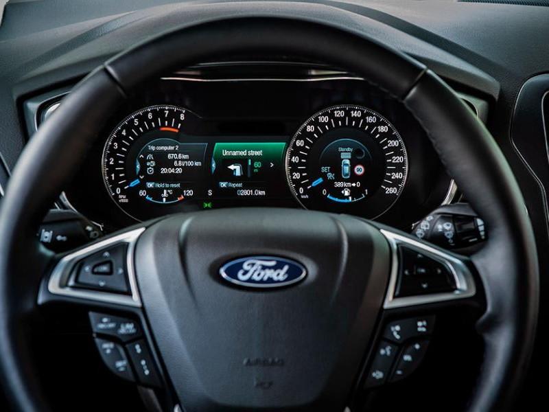 Руль, приборная панель Ford Mondeo 2015
