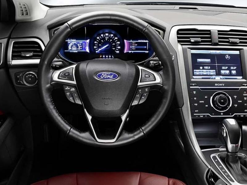 Руль, консоль, приборная панель Ford Mondeo 2015