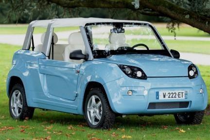 Citroen Bollore BlueSummer, электромобиль