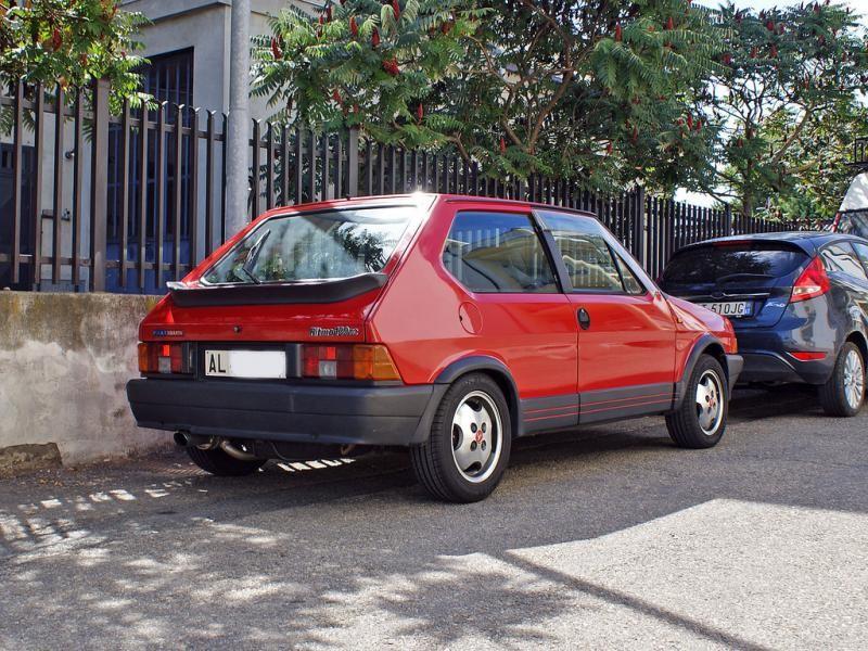 Хэтчбек Fiat Ritmo 130 TC Abarth