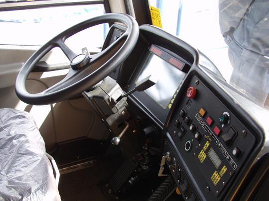 Карьерный самосвал БелАЗ-75601, вид спереди
