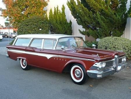 Edsel Villager Wagon 1958