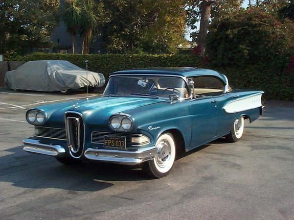 Синий хардтоп Edsel Ranger 1958