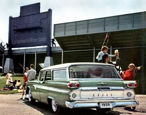 Edsel Villager Wagon 1959 вид сзади