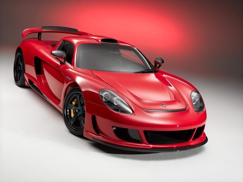 Красный Gemballa Mirage GT (Porsche GT)