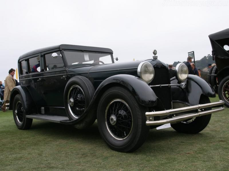 Черный Duesenberg Model X