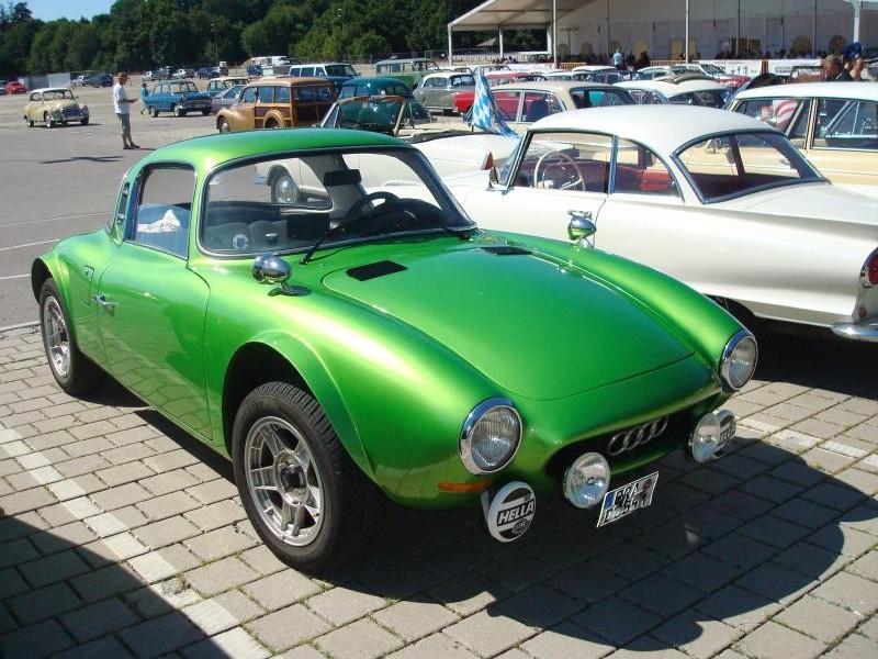 Зеленый  купе DKW Monza