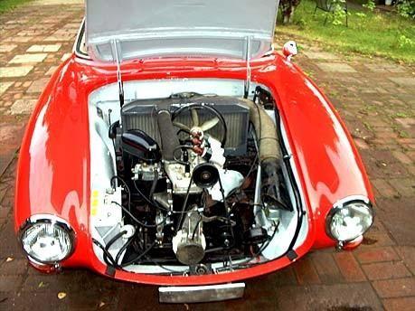 Двигатель DKW Monza