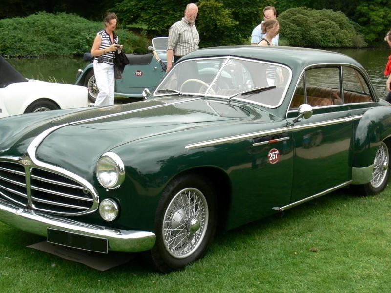 Зеленый купе Delahaye 235MS Coupe 1953