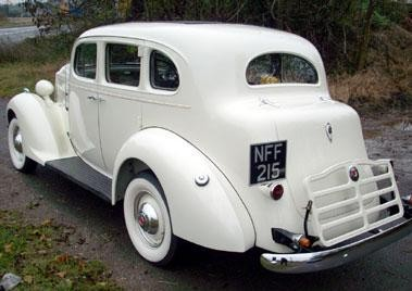 Packard 115 Touring вид сзади