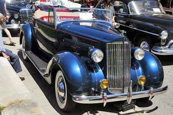 Кабриолет Packard 115 Touring