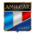 Значок-эмблема Amilcar