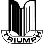 Значок-эмблема Triumph