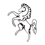 Значок-эмблема Aveling-Barford