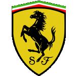 Значок-эмблема Ferrari