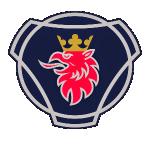 Значок-эмблема Scania
